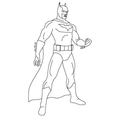 Comment dessiner batman dessein de dessin - Dessiner batman ...