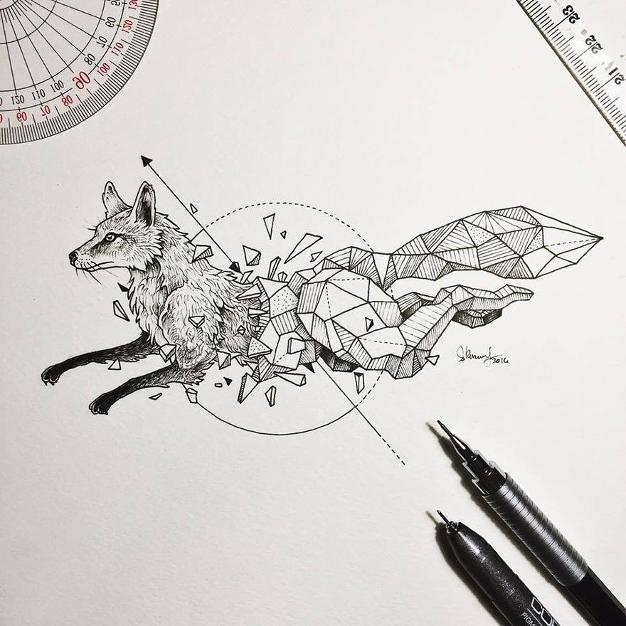Les-animaux-geometriques-de-Kerby-Rosanes-1